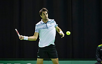 Rotterdam, The Netherlands, 11 Februari 2019, ABNAMRO World Tennis Tournament, Ahoy, first round match: Jeremy Chardy (FRA),<br /> Photo: www.tennisimages.com/Henk Koster