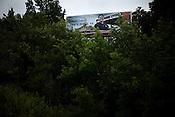 July 05, 2009. Durham, NC..Faux local billboard advertising.