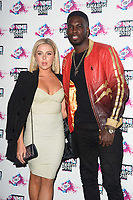 Gaby Allen &amp; Marcel Sommerville at the VO5 NME Awards 2018 at the Brixton Academy, London, UK. <br /> 14 February  2018<br /> Picture: Steve Vas/Featureflash/SilverHub 0208 004 5359 sales@silverhubmedia.com