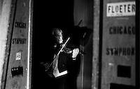 Backstage Chicago Symphony Orchestra 1998