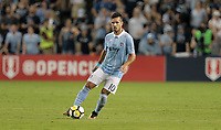 Kansas City, KS - Wednesday September 20, 2017: Benny Feilhaber during the 2017 U.S. Open Cup Final Championship game between Sporting Kansas City and the New York Red Bulls at Children's Mercy Park.