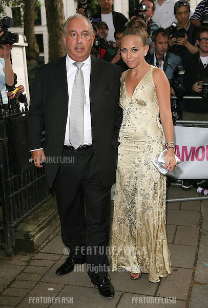 Philip Green and daughter Chloe arriving for the 2010 Glamour Awards, Berkeley Square, London. 08/06/2010  Picture by: Alexandra Glen / Featureflash