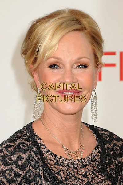 Melanie Griffith.40th Annual AFI Life Achievement Award Honoring Shirley MacLaine held at Sony Pictures Studios, Culver City, California, USA..June 7th, 2012.headshot portrait black lace dangling earrings .CAP/ADM/BP.©Byron Purvis/AdMedia/Capital Pictures.