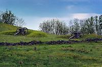 Canons, Gettysburg Battlefield, Adams County, Pennsylvania, USA