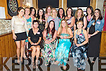Rosita Cahill, Kenmare, pictured with Bernice McCarthy, Annette Fleming, Vanessa Munnelly, Suzanne Downey, Anna O'Donoghue, Kay Teahan, Olivia O'Sullivan, Jenni Taylia, Anna McPartlin, Marie Therese Cahill, Ciara O'Sullivan, Fiona O'Leary, Deirdre King and Bridgid McCarthy as she celebrated her hen night in the Laune Bar, Killarney on Saturday evening...