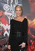 LOS ANGELES, CA - NOVEMBER 13: Connie Nielsen, at the Justice League film Premiere on November 13, 2017 at the Dolby Theatre in Los Angeles, California. Credit: Faye Sadou/MediaPunch