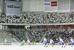 Stockholm 2015-03-14 Bandy Bronsmatch Hammarby IF - Villa Lidk&ouml;ping BK :  <br /> Vy &ouml;ver Tele2 Arena med tomma l&auml;ktarsektioner under matchen mellan Hammarby IF och Villa Lidk&ouml;ping BK <br /> (Foto: Kenta J&ouml;nsson) Nyckelord:  Tele2 Arena SM Brons Bronsmatch Tredjepris herr herrar Hammarby HIF Bajen Villa Lidk&ouml;ping VLBK supporter fans publik supporters inomhus interi&ouml;r interior tom tomma l&auml;ktare
