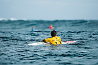 Namotu Island, Fiji (Friday, June 12, 2015) Adriano de Souza (BRA)  - Stop No. 5 on the 2015 WSL Championship Tour (CT), the Fiji Pro, commenced today with the world&rsquo;s best surfers tackling building four-to-six foot (1.5 - 2 metre) waves at Cloudbreak for Round 1 of competition.<br /> <br /> Holding a waiting period from June 7 - 19, the 2015 Fiji Pro opened with five consecutive lay days, allowing the world&rsquo;s best surfers to acclimatise to their temporary homes of Tavarua Is. and Namotu Is. as well as re-familiarise themselves with the world-class lefthander of Cloudbreak. The brief pause before action resulted today&rsquo;s explosive Round 1 that bore witness to a number of upsets as well as excellent scores.<br /> Photo: joliphotos.com