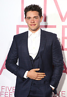 07 March 2019 - Westwood, California - Casey Cott. &quot;Five Feet Apart&quot; Los Angeles Premiere held at the Fox Bruin Theatre. <br /> CAP/ADM/FS<br /> &copy;FS/ADM/Capital Pictures
