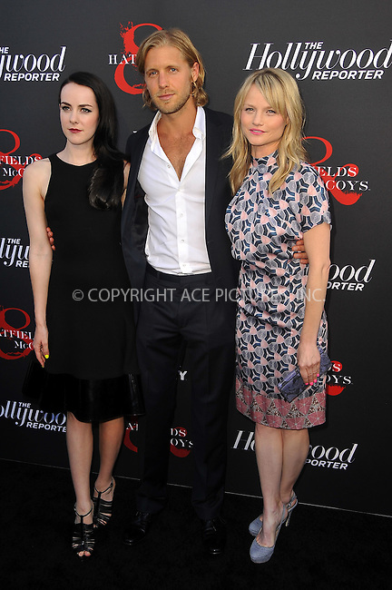 WWW.ACEPIXS.COM . . . . .  ....May 21 2012, LA....Jena Malone, Matt Barr and Lindsay Pulsipher at a special screening of 'Hatfields & McCoys' hosted by The History Channel at Milk Studios on May 21, 2012 in Hollywood, California. ....Please byline: PETER WEST - ACE PICTURES.... *** ***..Ace Pictures, Inc:  ..Philip Vaughan (212) 243-8787 or (646) 769 0430..e-mail: info@acepixs.com..web: http://www.acepixs.com