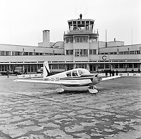 Royal Antwerp Aviation Club.  Mei 1967.  Luchthaven Deurne.