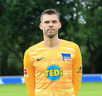 19.07.2019, Sportpark, Berlin, GER, 1.FBL, DFL,, Hertha BSC Mannschaftsfoto 2019-20,<br /> DFL, regulations prohibit any use of photographs as image sequences and/or quasi-video<br /> im Bild Rune Jarstein (Hertha BSC Berlin #22)<br /> <br />       <br /> Foto © nordphoto / Engler