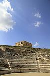 Israel, lower Galilee, the Roman theater in Zippori