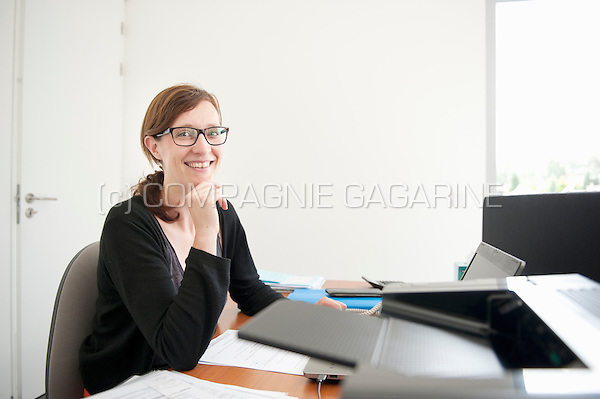 Hélène Delforge, sales manager at GS Subsides (Belgium, 23/07/2015)