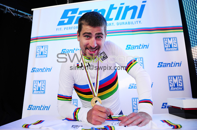 Picture by Simon Wilkinson/SWpix.com - 24/09/2017 - Cycling UCI 2017 Road World Championships Bergen Norway - Road Race <br />