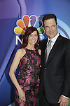 Carrie Prestno & Patrick Warburton  - Crowded- NBC Upfront at Radio City, New York City, New York on May 11, 2015 (Photos by Sue Coflin/Max Photos)