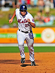7 March 2009: New York Mets' outfielder Rob Mackowiak on the basepath to third during a Spring Training game against the Washington Nationals at Tradition Field in Port St. Lucie, Florida. The Nationals defeated the Mets 7-5 in the Grapefruit League matchup. Mandatory Photo Credit: Ed Wolfstein Photo