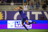 Orlando, FL - Saturday July 16, 2016: Christina Burkenroad during a regular season National Women's Soccer League (NWSL) match between the Orlando Pride and the Chicago Red Stars at Camping World Stadium.