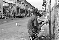 """Milano, """"Push it real - Leoncavallo walls total re-painting"""", tre giorni dedicati alla cultura hip hop durante i quali vengono tra l'altro ridipinti i muri del centro sociale --- Milan, """"Push it real - Leoncavallo walls total re-painting"""", three days dedicated to hip hop culture at Leocavallo social center and repainting of the walls with new graffiti"""