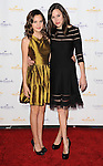 Bailee Madison and her sister Kaitlin Riley arriving at the Hallmark Channel Winter 2014 TCA Gala, held at The Huntington Library and Gardens Pasadena Ca.
