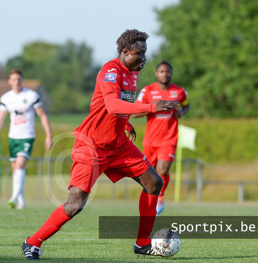 KV Oostende : Elimane Coulibaly<br /> foto VDB / BART VANDENBROUCKE