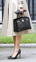 LONDON, ENGLAND - JUNE 04: Melania Trump outside in 10 Downing Street, during the second day of Trump State Visit on June 4, 2019 in London, England. <br /> CAP/GOL<br /> ©GOL/Capital Pictures