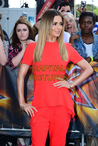 LONDON, ENGLAND - JUNE 20:   Cheryl Cole attends The X Factor London judges auditions at Emirates Stadium, 37-55 Ashburton Grove, Islington, on June 20, 2014, in London, England.  <br /> CAP/JOR<br /> &copy;Nils Jorgensen/Capital Pictures