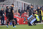 Zlatan Ibrahimovic of AC Milan prepares to enter the field of play for his second debut in the AC Milan shirt during the Serie A match at Giuseppe Meazza, Milan. Picture date: 6th January 2020. Picture credit should read: Jonathan Moscrop/Sportimage