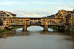 The Ponte Vecchio in Florence, Italy.