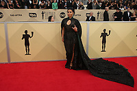 LOS ANGELES, CA - JANUARY 21: Jessica Pimentel at The 24th Annual Screen Actors Guild Awards held at The Shrine Auditorium in Los Angeles, California on January 21, 2018. Credit: FSRetna/MediaPunch