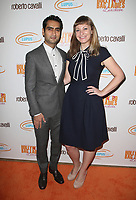 BEVERLY HILLS, CA - NOVEMBER 17: Kumail Nanjiani and Emily V. Gordon at Lupus LA's 15th Annual Hollywood Bag Ladies Luncheon at The Beverly Hilton in Beverly Hills, California on November 17, 2017. Credit: Faye Sadou/MediaPunch /NortePhoto.com
