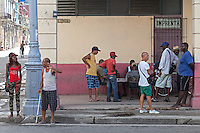 Giving directions and a game of dominoes, Centro Habana