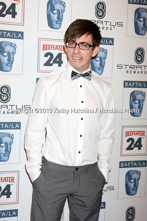 Kevin McHale.arriving at the BAFTA/LA Awards Season Tea Party 2010.Beverly Hills Hotel.Beverly Hills, CA.January 16, 2010.©2010 Kathy Hutchins / Hutchins Photo....