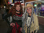 Denise and Haley during the Zombie Crawl held on Saturday night, October 26, 2019 in downtown Reno.
