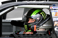Sept 19, 2008; Dover, DE, USA; NASCAR Camping World Series East driver Ricky Carmichael during qualifying prior to the Sunoco 150 at Dover International Speedway. Mandatory Credit: Mark J. Rebilas-