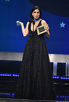SANTA MONICA - JANUARY 13: Sarah Silverman appears on the 24th Annual Critics' Choice Awards at the Barker Hangar on January 13, 2019, in Santa Monica, California. (Photo by Frank Micelotta/PictureGroup)