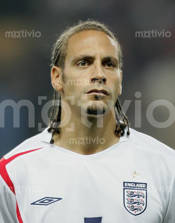 Fussball International Testspiel England 3-2 Argentinien Rio Ferdinand (ENG), Portraet
