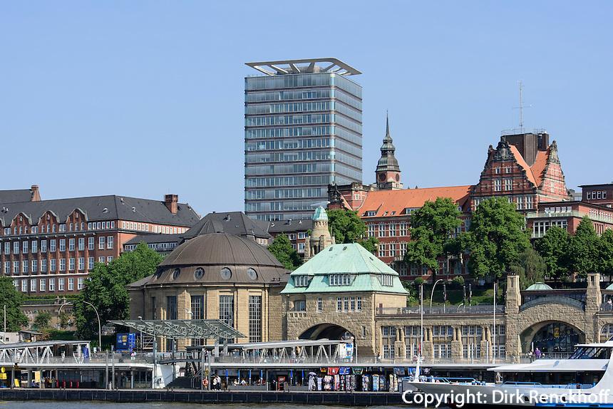 Landungsbr&uuml;cken St. Pauli, Hamburg, Deutschland<br /> landing pier, St. Pauli, Hamburg, Germany