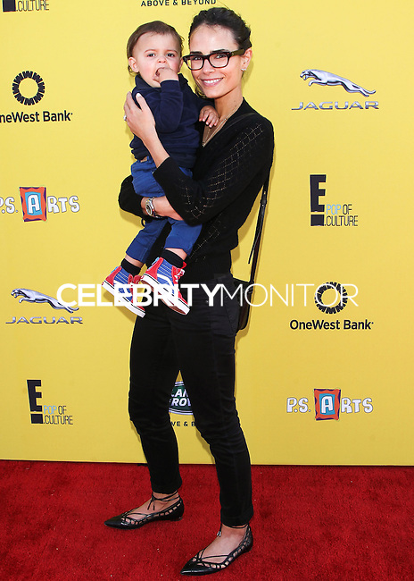 SANTA MONICA, CA, USA - NOVEMBER 16: Julian Form, Jordana Brewster arrives at the P.S. ARTS Express Yourself 2014 held at The Barker Hanger on November 16, 2014 in Santa Monica, California, United States. (Photo by Celebrity Monitor)