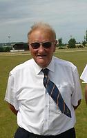 2019 07 15, Cricket umpire John Williams, Wales, UK