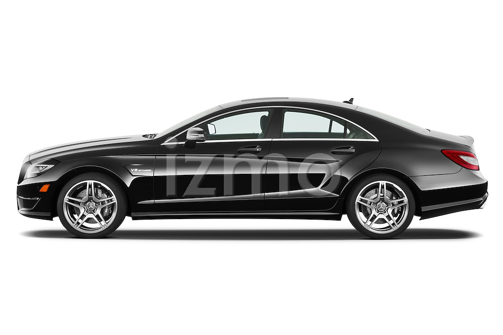 Driver side profile photo of a 2013 Mercedes CLS Class AMG sedan