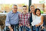 John, Tom, Zio and Fiona Geaney