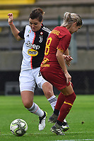 Cristiana Girelli (Juventus)<br /> and Andrine Hegerberg (Roma)<br /> <br /> Roma 24/11/2019 Stadio Tre Fontane <br /> Football Women Serie A 2019/2020<br /> AS Roma - Juventus <br /> Photo Andrea Staccioli / Insidefoto