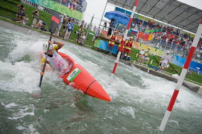 Kayak (K1) Women Heats, LI Jingjing, (China), Summer Olympics, Beijing, China, August 13, 2008