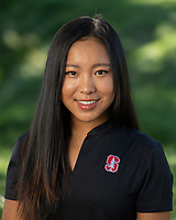 Stanford, Ca - September 2, 2019: Stanford Women's Golf Team 2019 portraits and team photo.