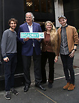 Bret Tucker, Stewart F. Lane, Bonnie Comley and Julian Dankner Behind the Scenes with BroadwayHD: A Digital Capture of  Roundabout Theatre Company's 'If I Forget' at Laura Pels Theatre on 4/28/2017 in New York City.