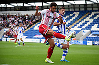 Stevenage's Chris Whelpdale tries to find the goal<br /> <br /> Photographer Hannah Fountain/CameraSport<br /> <br /> The EFL Sky Bet League Two - Colchester United v Stevenage Borough - Saturday August 12th 2017 - Colchester Community Stadium - Colchester<br /> <br /> World Copyright &copy; 2017 CameraSport. All rights reserved. 43 Linden Ave. Countesthorpe. Leicester. England. LE8 5PG - Tel: +44 (0) 116 277 4147 - admin@camerasport.com - www.camerasport.com