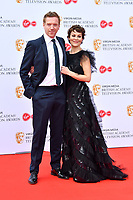 Damian Lewis and Helen McCroy<br /> at Virgin Media British Academy Television Awards 2019 annual awards ceremony to celebrate the best of British TV, at Royal Festival Hall, London, England on May 12, 2019.<br /> CAP/JOR<br /> &copy;JOR/Capital Pictures