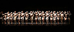 """The Cast featuring Tony Yazbeck, Jenna Nicole Schoen, Anthony Wayne, Robyn Hurder, Jay Armstrong-Johnson and Melanie Moore and cast during Curtain Call for the New York City Center Celebrates 75 Years with a Gala Performance of """"A Chorus Line"""" at the City Center on November 14, 2018 in New York City."""