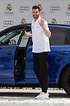 Rudy Fernandez during the Audi Car delivery, at the basketball players of the Real Madrid. May 25,2016. (ALTERPHOTOS/Rodrigo Jimenez)